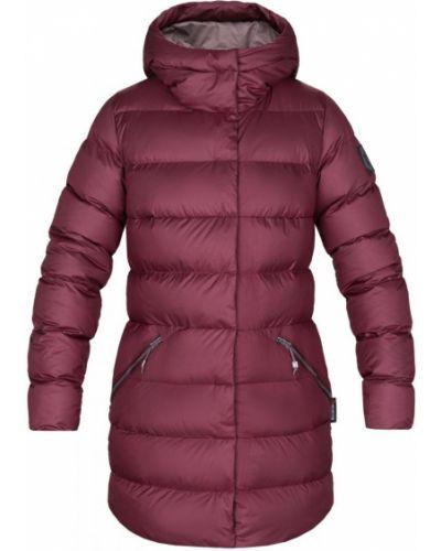 Пуховая спортивная куртка с капюшоном на молнии Red Fox