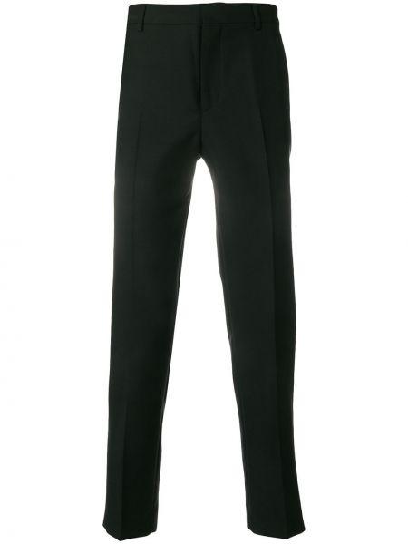 Черные классические брюки из мохера Harmony Paris