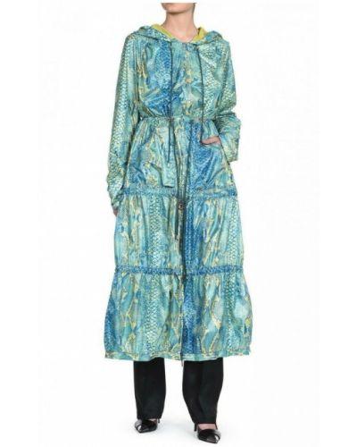 Zielony płaszcz przeciwdeszczowy Just Cavalli