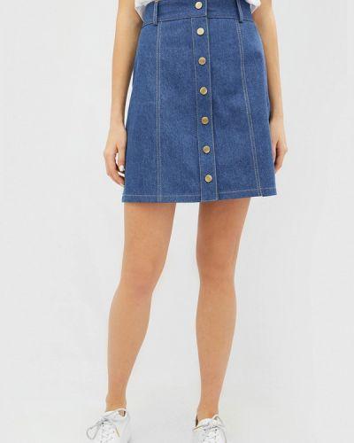 Синяя юбка весенняя Cardo