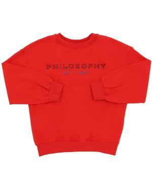 Свитшот с логотипом Philosophy Di Lorenzo Serafini