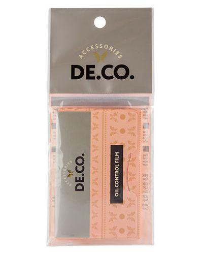 Матирующая салфетка для лица Deco