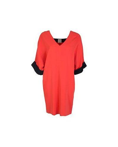 Красное вечернее платье Nude
