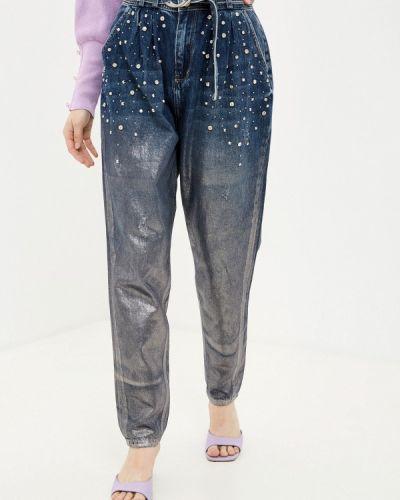 Синие джинсы D'she