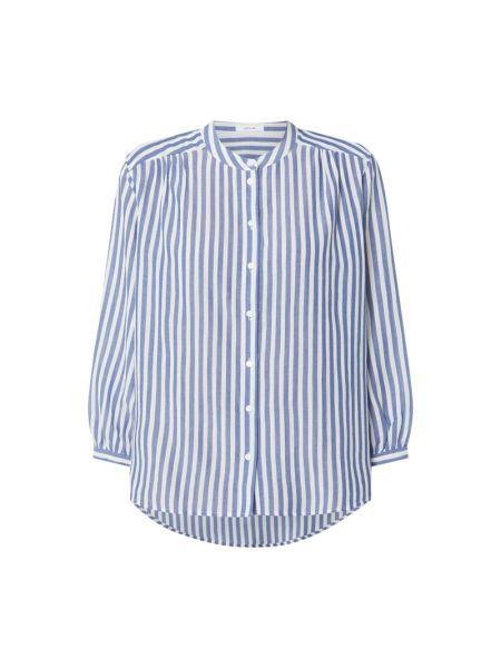 Bluzka z wiskozy - niebieska Opus