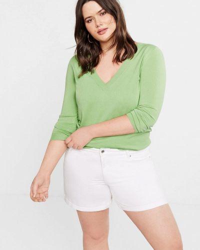 Пуловер зеленый Violeta By Mango