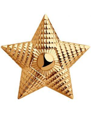 Брошь из золота золотой Sokolov