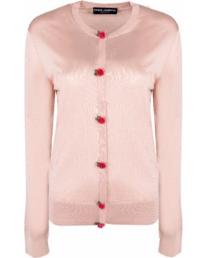 Кардиган на пуговицах шелковый Dolce & Gabbana