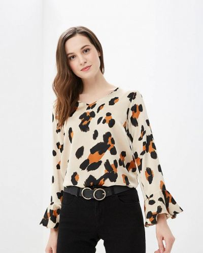 Бежевая блузка осенняя Wallis