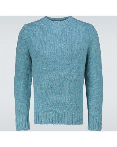 Klasyczny niebieski sweter wełniany ã‰ditions M.r