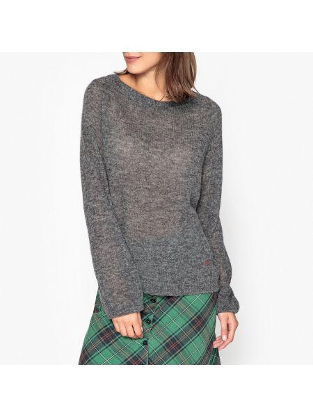 Пуловер в рубчик длинный Leon & Harper