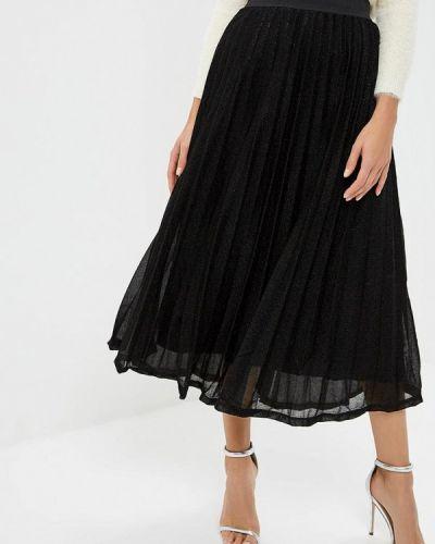 Плиссированная юбка черная Compania Fantastica