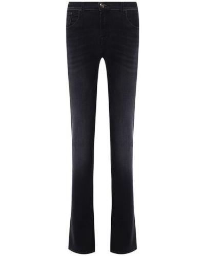 Хлопковые джинсы - серые Moorer