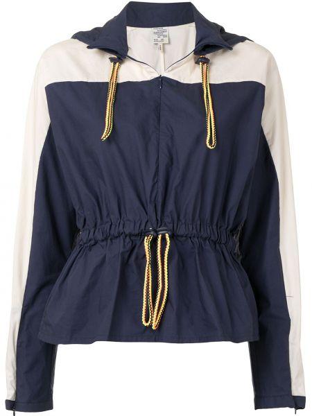 Синяя куртка с капюшоном на молнии Baum Und Pferdgarten