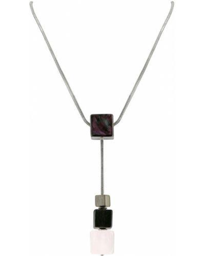 Розовое ожерелье Nature Bijoux