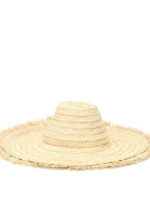 Beżowy kapelusz Bonpoint