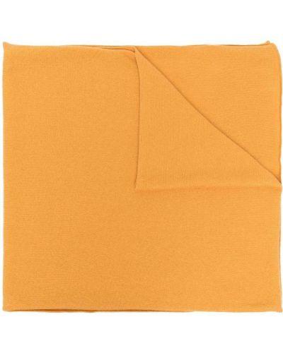 Z kaszmiru szalik - żółty Fedeli