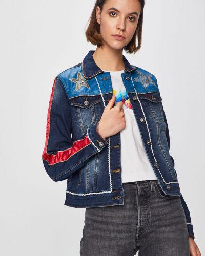 Джинсовая куртка на пуговицах с карманами Desigual