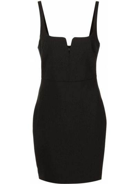 Czarna sukienka z dekoltem w serek Likely
