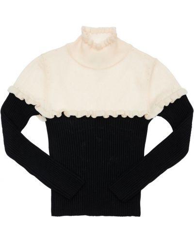 Черный свитер Mi.mi.sol.