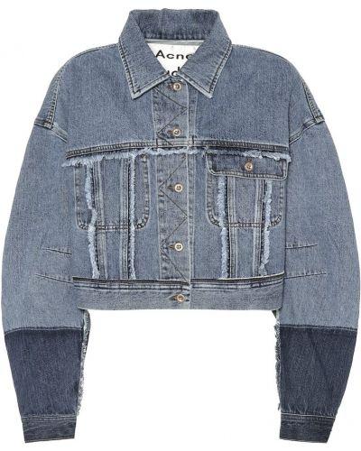 Codziennie bawełna bawełna niebieski jeansy do kostek Acne Studios