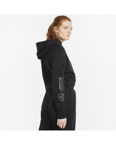 Куртка с капюшоном - черная Puma