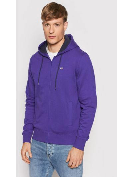 Bluza - fioletowa Tommy Jeans