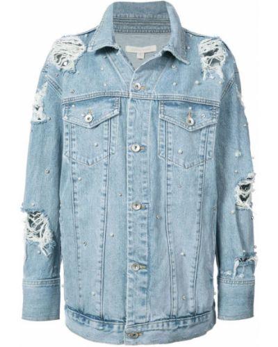 Синяя джинсовая куртка Jonathan Simkhai