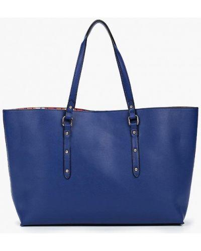Синяя сумка Piazza Italia
