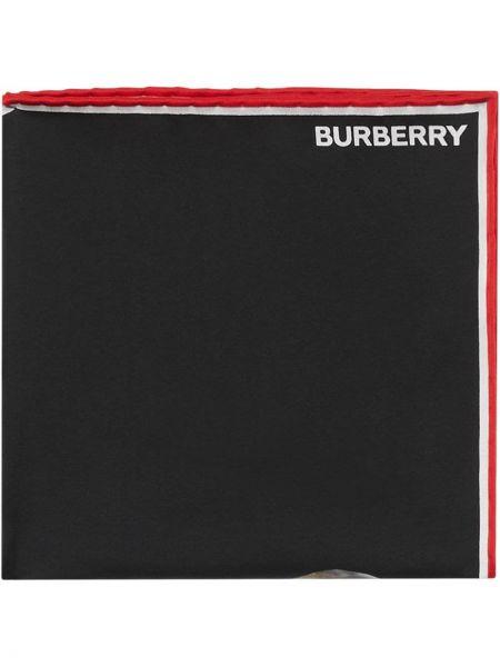 Черный платок Burberry