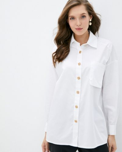 Белая рубашка с длинными рукавами Lusio
