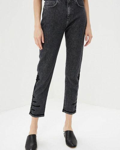 Серые джинсы-скинни Pinko
