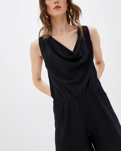 Черный комбинезон с шортами Patrizia Pepe