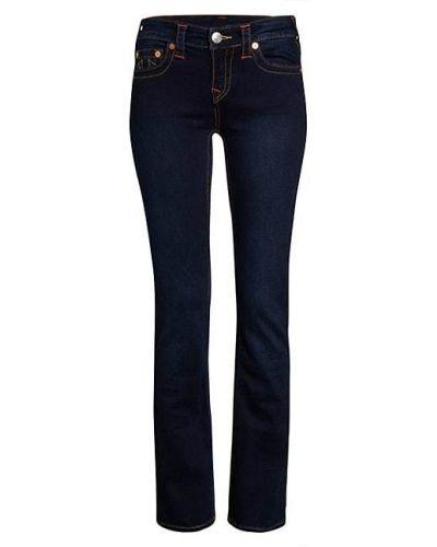 Прямые синие джинсы стрейч True Religion