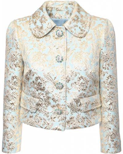 Niebieska kurtka Dolce And Gabbana