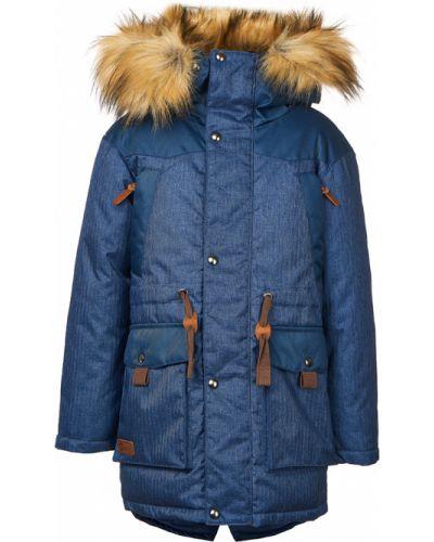 Зимняя куртка теплая синий Oldos Active