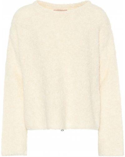 Sweter wełniany - biały 81hours