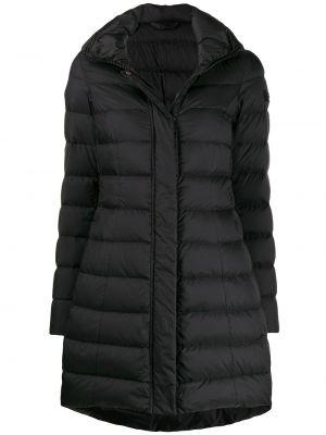 Черное пальто Peuterey