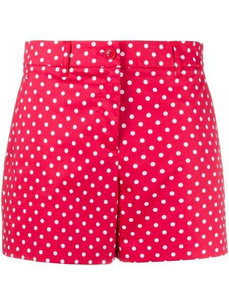 Короткие шорты с заниженной талией на пуговицах Boutique Moschino