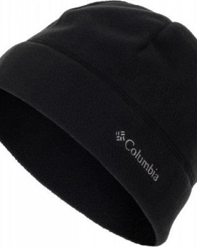Флисовая шапка - черная Columbia