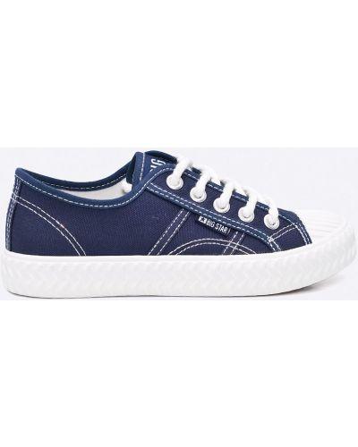 Кеды текстильные синий Big Star