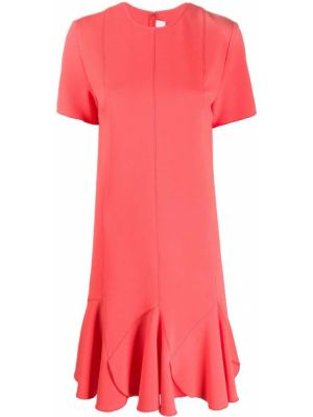 Платье мини расклешенное с рукавами Victoria, Victoria Beckham