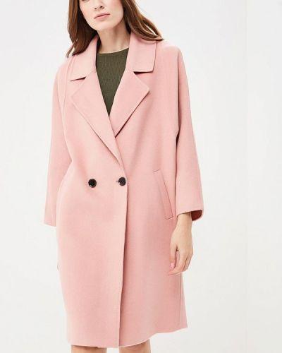 Розовое пальто Lorani