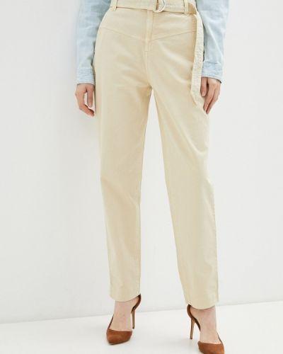 Повседневные бежевые брюки Guess Jeans