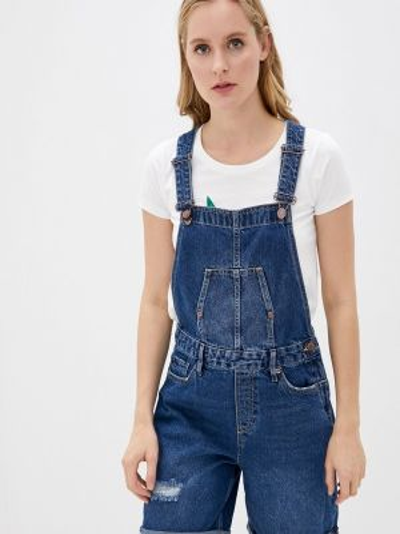 Синий джинсовый комбинезон Colin's