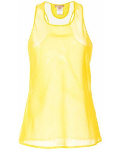 Майка прозрачная желтый Nehera