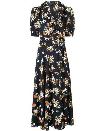 Платье мини с цветочным принтом с воротником Jill Jill Stuart