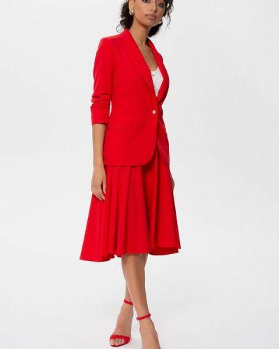 Красный вязаный юбочный костюм Anushka By Anna Pavlova
