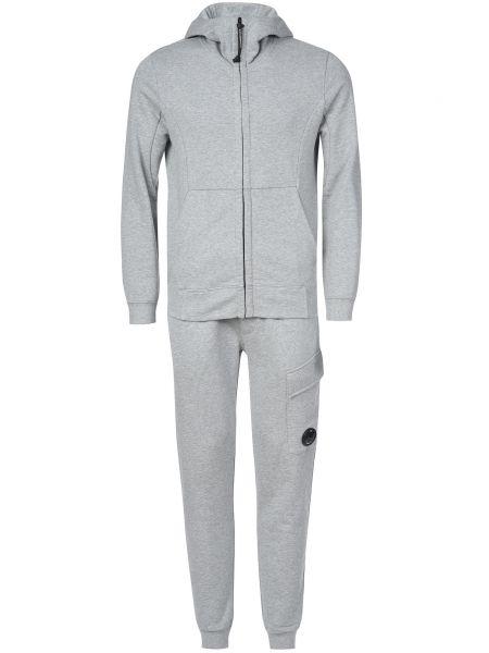 Хлопковый спортивный костюм - серый C.p. Company