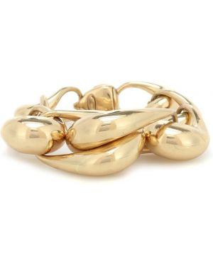 Żółta złota bransoletka ze złota Ellery